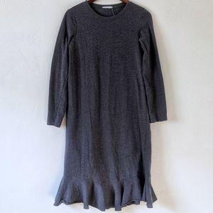Zara Ruffle Hem Dress